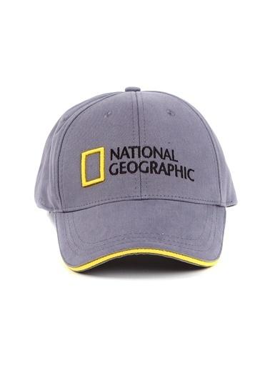 National Geographic Şapka Gri